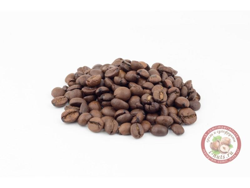 """Кофе в зернах """"Сливочная ваниль"""""""
