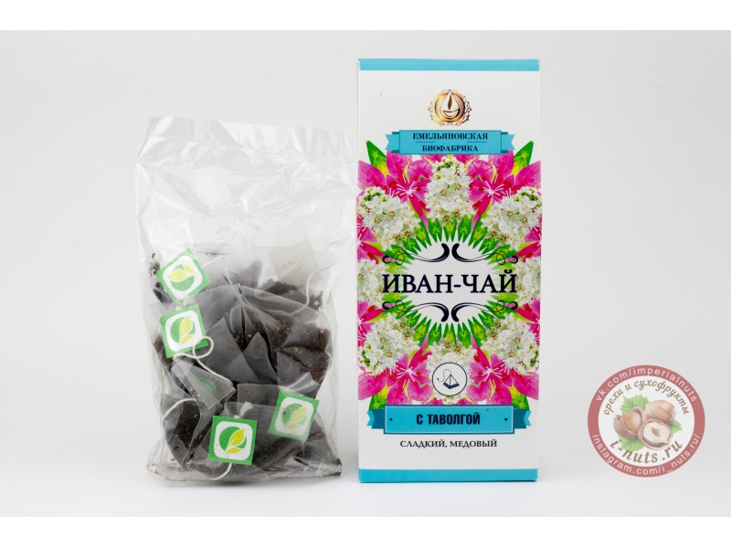 Иван чай с цветами таволги (в пакетиках)