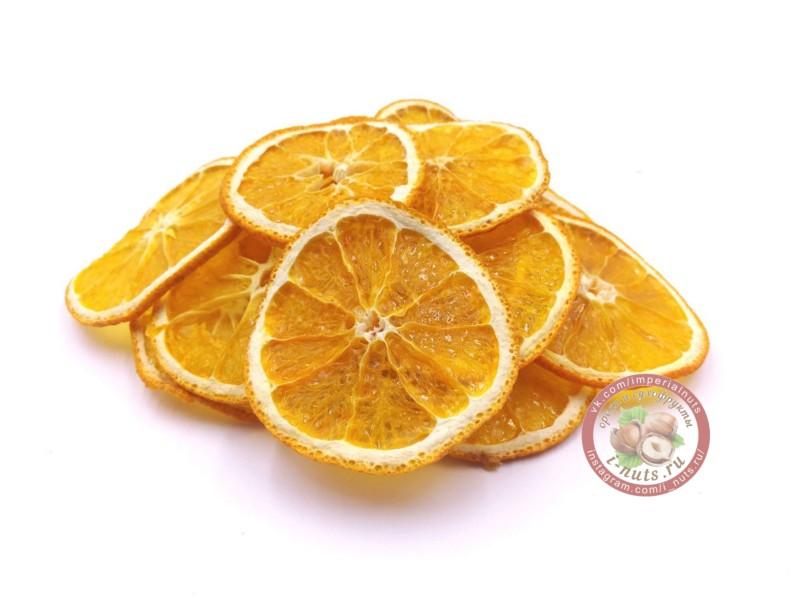 Апельсин чипсы